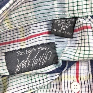 Lord & Taylor Shirts & Tops - Lord & Taylor Boys SS Buttoned Shirt